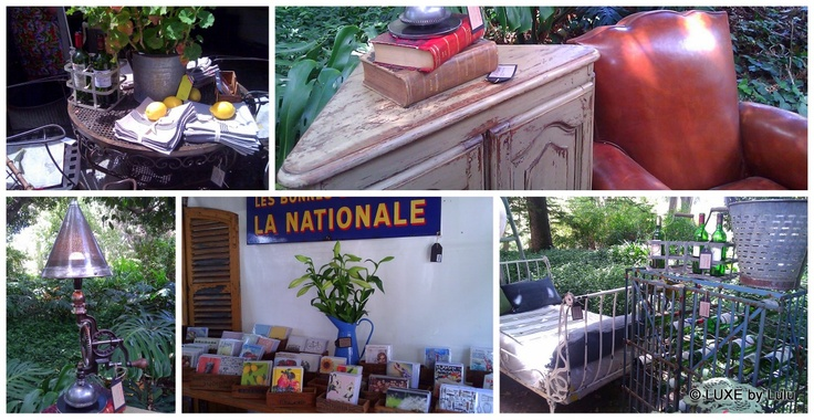 A little bit of France in Melbourne... Melbourne French Festival (Paris to Provence) at Como House #France #vintage #homewares #LaBrocante