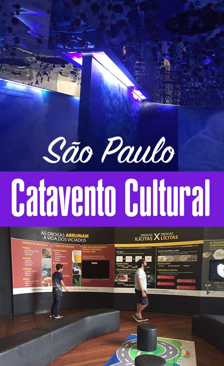 Visita ao Museu Catavento em São Paulo