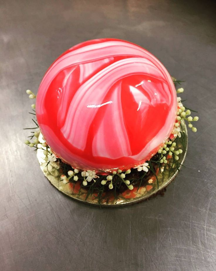 Is it Christmas? Our Christmas Baubles will be on display from tomorrow #koidb #pastry #dessert #christmascake