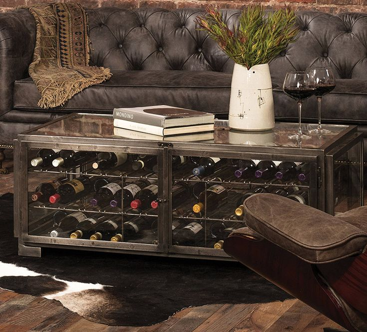 Hermitage Wine Storage Coffee Table - So That's Cool