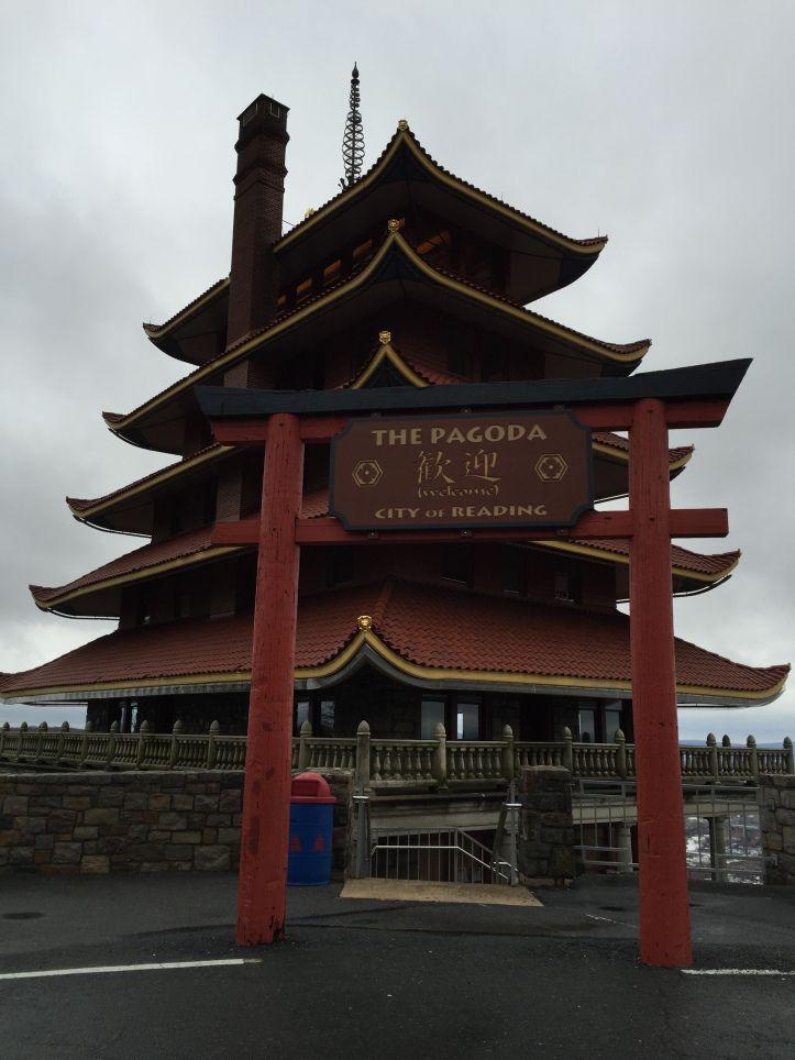 Visiting the Pagoda in Reading, PA