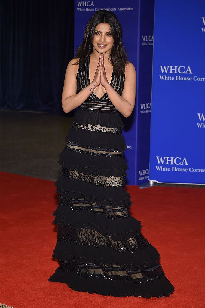 On April 30, Priyanka Chopra attended the 102nd White House Correspondents' Association dinner.