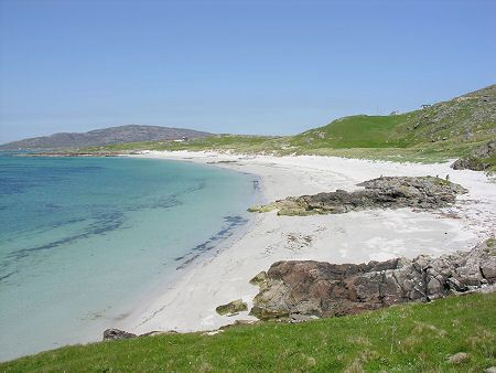 Another beautiful Scottish beach we stayed on, this time in Eriskay.