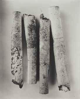 Irving Penn   Cigarettes, Neg. No. 86, 1974