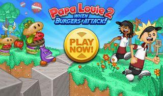 Juegos Friv 10 Games: Papa Louie 2 - When Pizzas Attack!