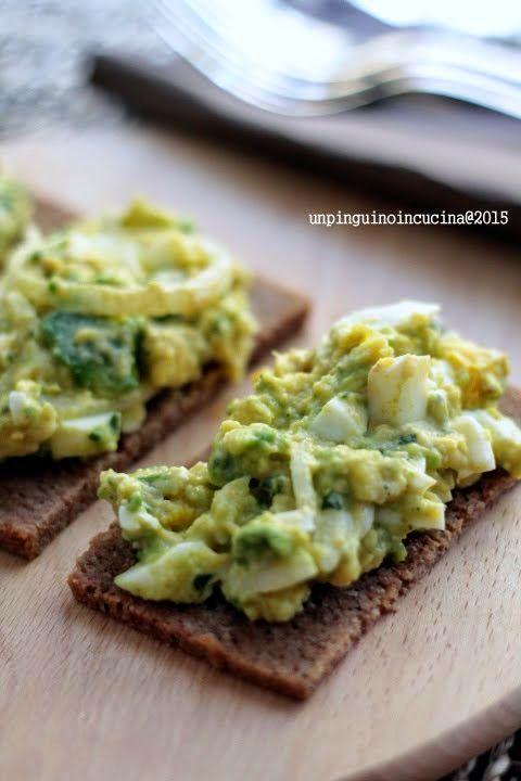 Avocado & Egg Salad - Insalata di avocado e uova