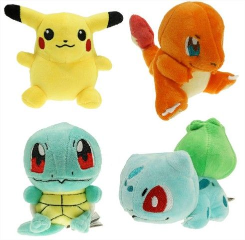 4 Pokemon Plush - Pokemon Go Plush - FREE SHIPPING - The Best Anime Shop Online - Buy th best products for pokemon fans! up to 80%…