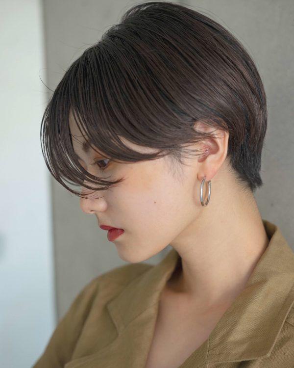 ブルージュ ハンサムショート ハンサムショート 短い髪のための