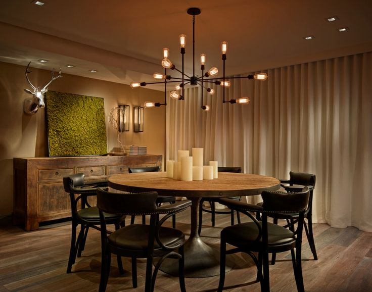 RS3 Designs | Interior Design | Fort Lauderdale | Harbor Beach | Dining | Restoration Hardware | Furniture | Lighting | Sconces | Chandelier | Accessories | Decor | Wallpaper | Greenery | Drapery | Window Treatment http://www.bykoket.com/inspirations/