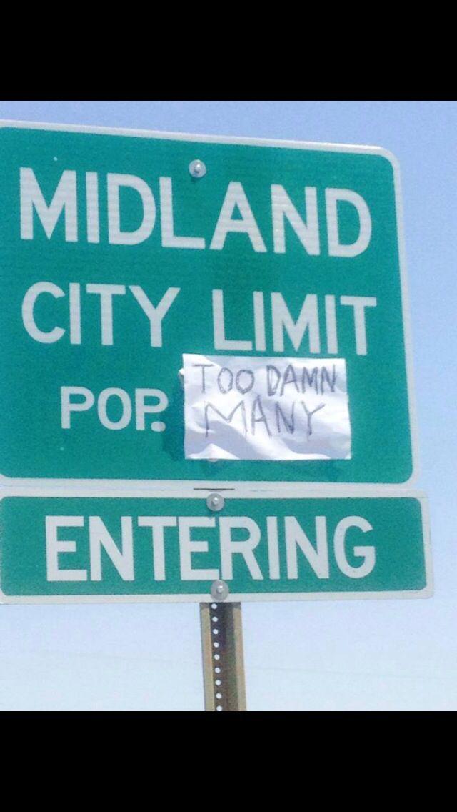 Midland, Texas!
