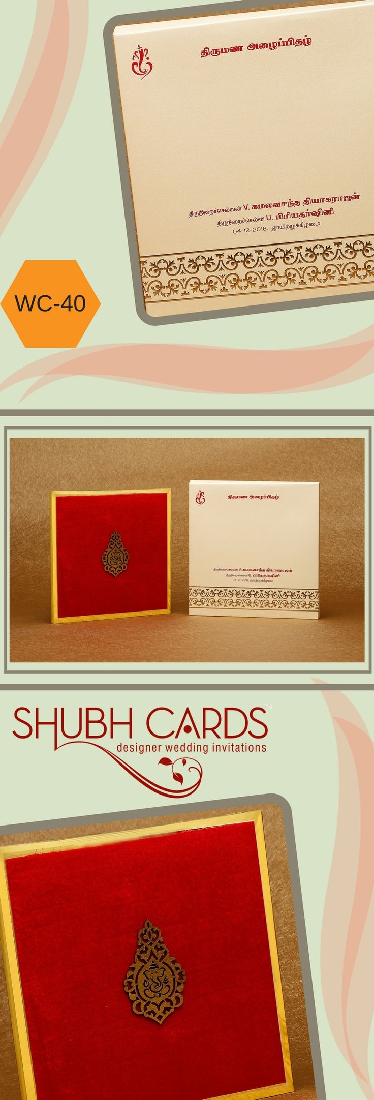 The 27 best Grand Wedding Invitations images on Pinterest   Blue box ...