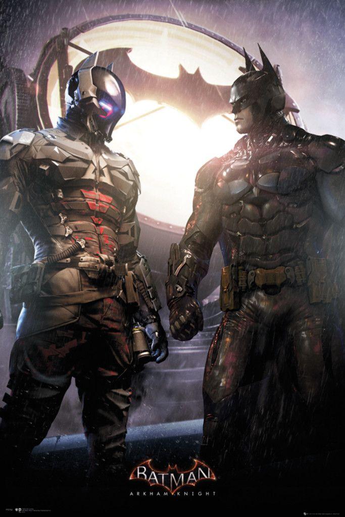 Batman Arkham Knight Batman and Knight - Official Poster