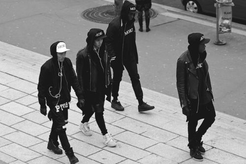 Black gang | Men's fashion | Pinterest