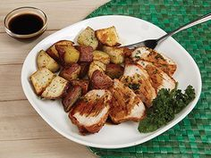 Roast Pork Loin with Red Potatoes Recipe   Power AirFryer XL™