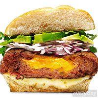 Sunny Anderson Loaded Nacho Burger
