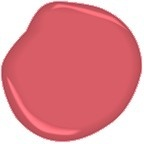 The color of Nantucket Red Pants benjamin moore milano red