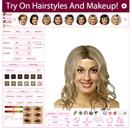 @ Home Virtual Makeover & Hairstyler