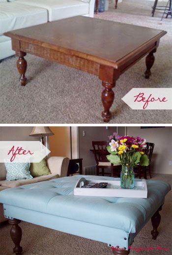Graças à criatividade e esforços de entusiastas de DIY , dar uma nova vida a mobiliário antigo tornou-se cada vez mais popular pois para além de ser uma bo