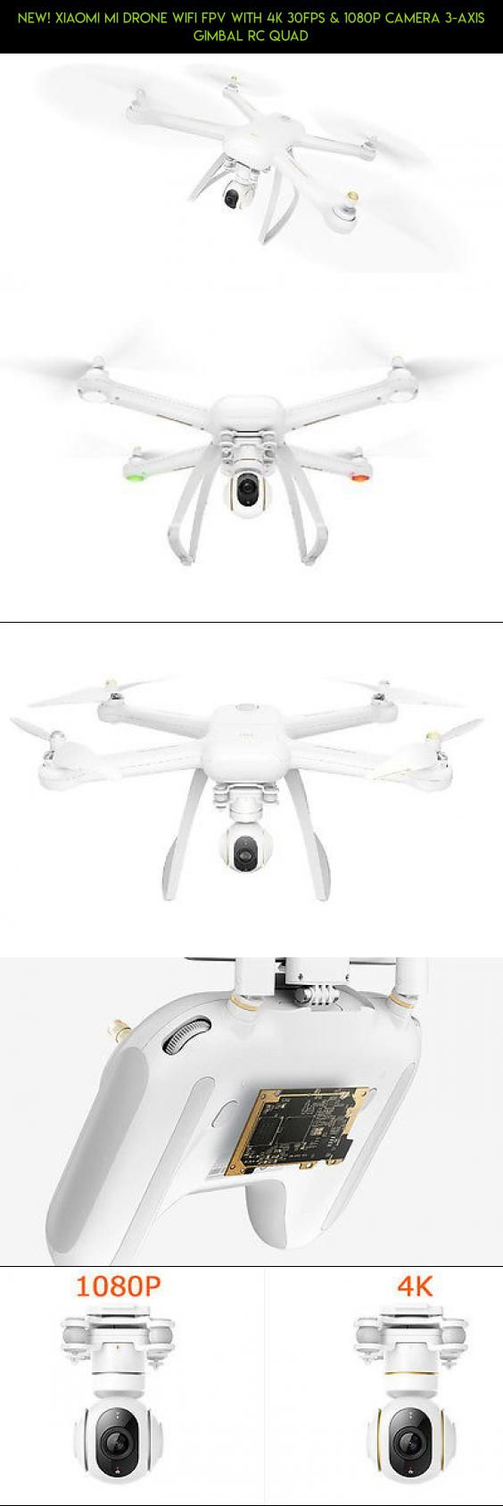 New! Xiaomi Mi Drone WIFI FPV With 4K 30fps & 1080P Camera 3-Axis Gimbal RC Quad #with #fpv #30fps #wifi #drone #kit #products #racing #plans #fpv #parts #camera #1080p #tech #& #drone #mi #4k #shopping #technology #gadgets #xiaomi