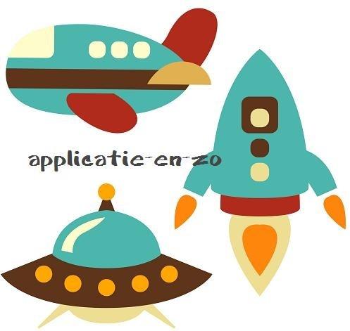 applicaties ruimtevaartuigen en vliegtuig