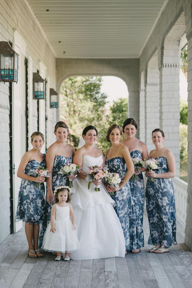 Purple and Blue Kiawah Wedding I Sean Money + Elizabeth Fay
