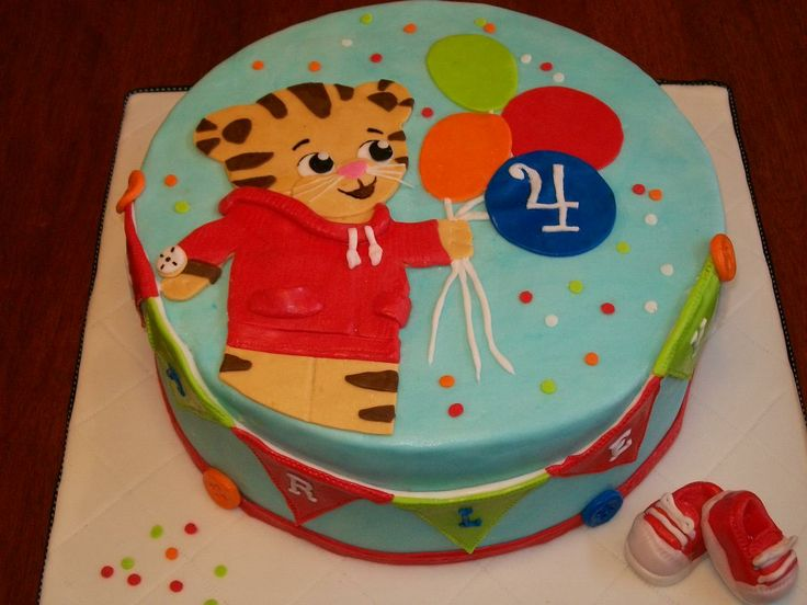 the perfect cake for Ryan's second birthday!