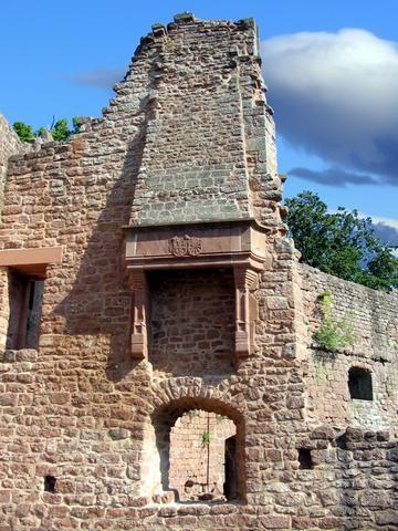 château de Wangenbourg. Alsace