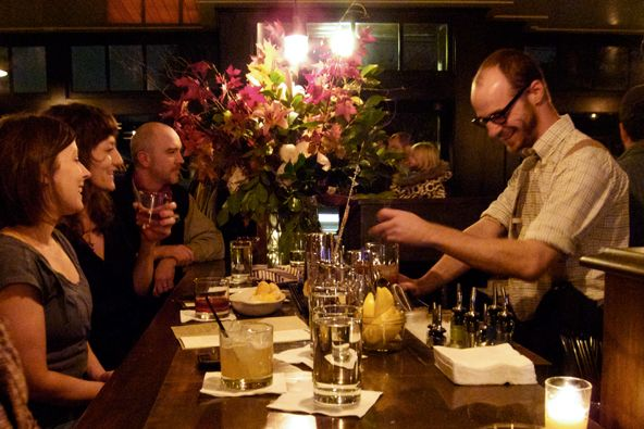 On my list: visit the Woodsman Tavern in Portland. Bar/restaurant by the founder of Stumptown.