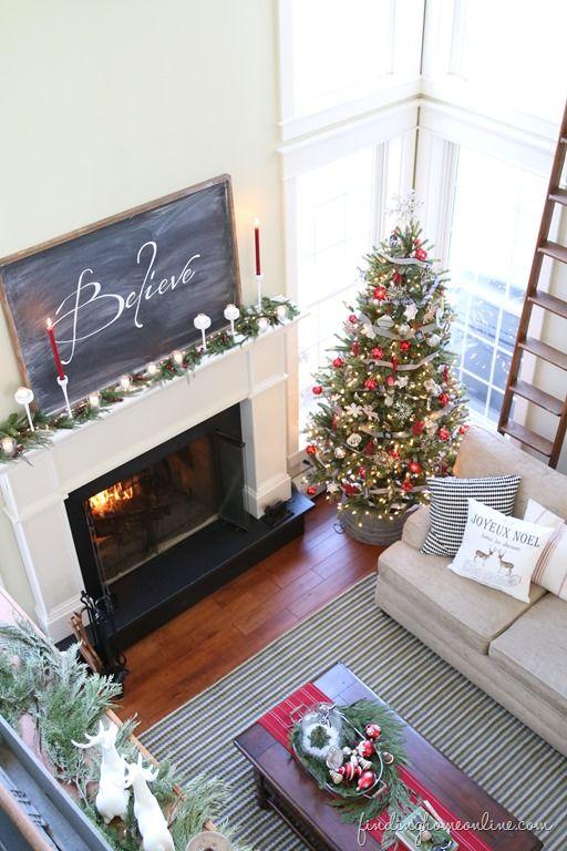 ModernFarmhouseChristmasDecorating thumb Christmas Decorating Ideas: Holiday Housewalk Tour