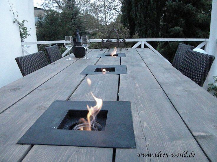 Die 25 besten feuerschale selber bauen ideen auf pinterest feuerschale recycling garten - Diy balkonmobel ...