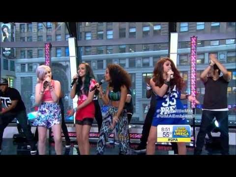 [HD] Little Mix - Wings - GMA Concert Series 6-7-13 & Emblem3 - Chloe
