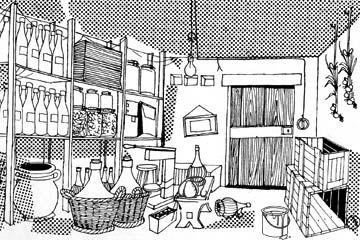 Conservare il vino: la cantina condominiale