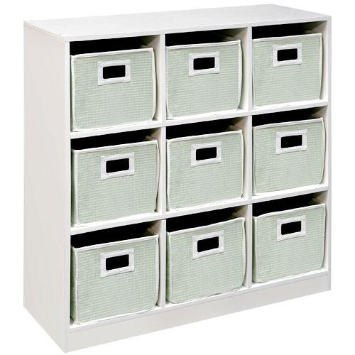 Badger Basket   Cubby Storage Unit... Kids Room (black .