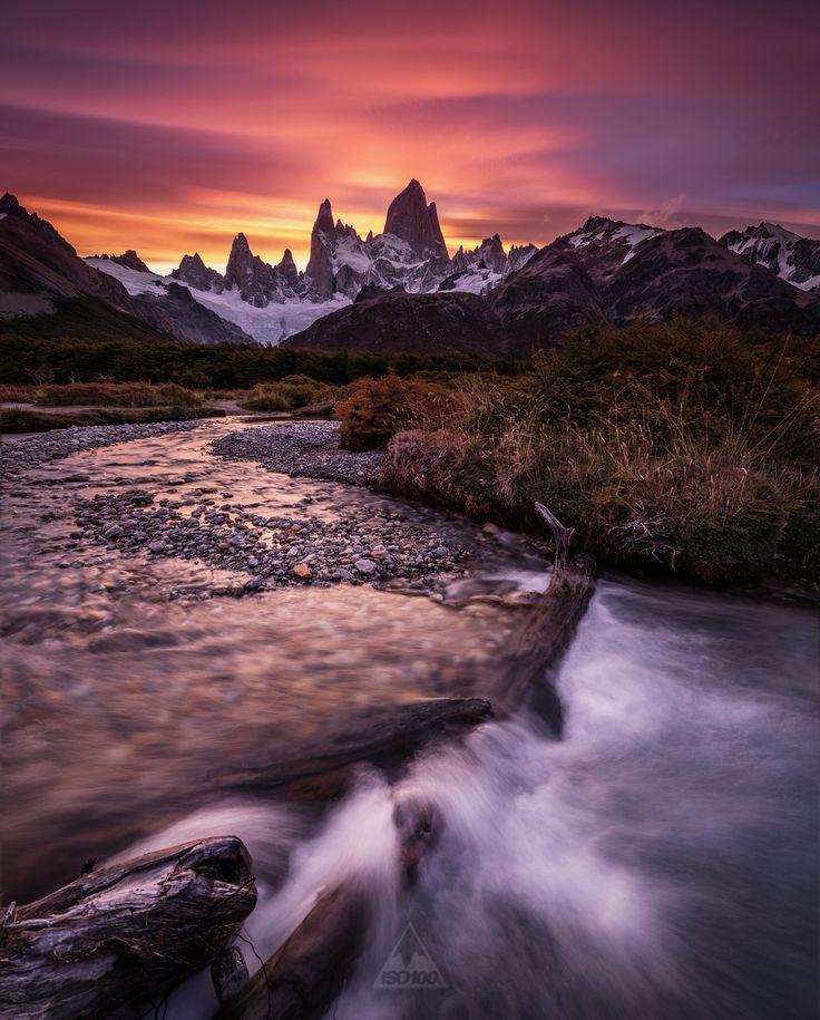 Perhaps the most amazing sunset i have ever experienced, Patagonia