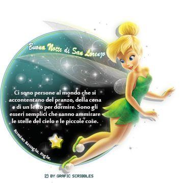 Adesivo e citazioni per augurare una bella notte di San Lorenzo con tante stelle cadenti e tanti sogni da esprimere...