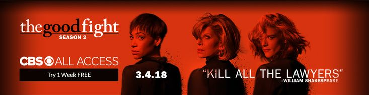 The fight continues 3.4.18 – exclusively on CBS All Access! Watch The Good Fight trailer now.       #access #ad #all #bargain #coupon #deal #discount #episode #free #hot #INTERNET #movies #news #offer #online #save #saving #series #show #sports #tech #trial #tv #video #week #wireless