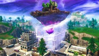 Ile Volante l'Île volante se dÉplace et le cube va changer.. (fortnite saison 6