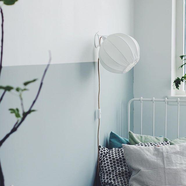Vi har fyllt på med vägglampor i ekologisk bomull, Lampverket.se #lampverket #svensktillverkad #inredningsdetaljer #vägglampor #organiccotton #eko