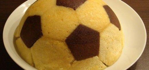 Gâteau d'anniversaire Ballon de Foot1