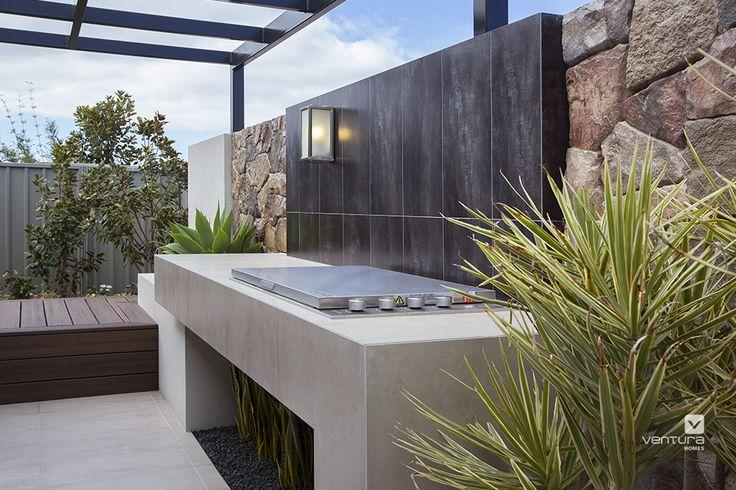 Alfresco patio backyard design.The Macquarie display home by #VenturaHomes