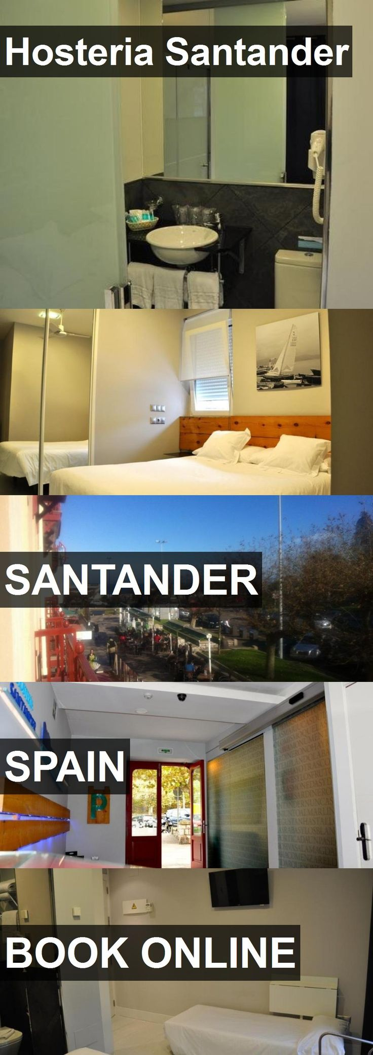 Hotel Hosteria Santander in Santander, Spain. For more information, photos, reviews and best prices please follow the link. #Spain #Santander #travel #vacation #hotel