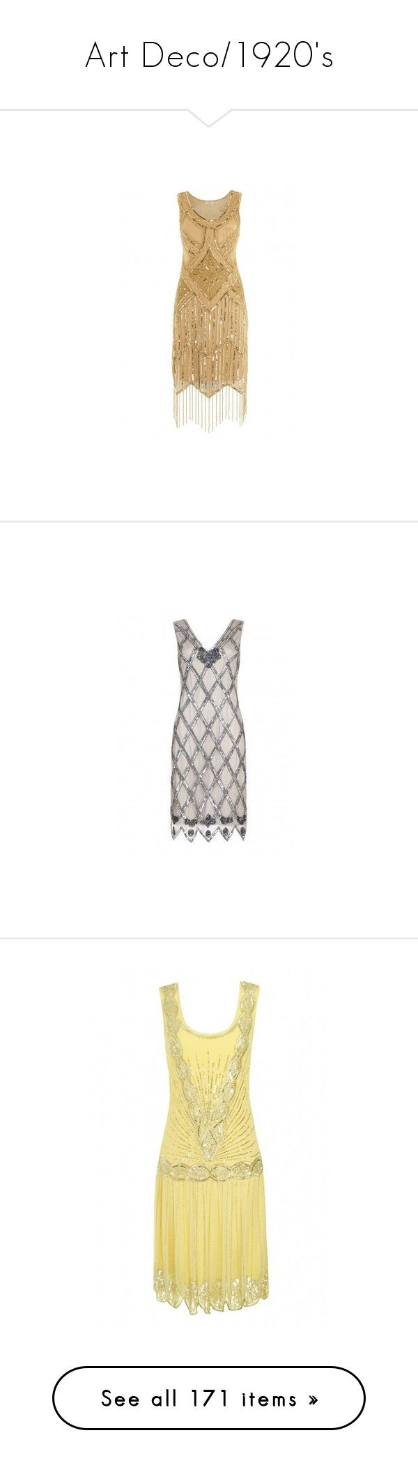 """""""Art Deco/1920's"""" by mcclungkristina ❤ liked on Polyvore featuring dresses, party dresses, flapper dresses, red vintage dress, vintage dresses, white fitted dress, red dress, vintage cocktail dresses, white flapper dress and flapper party dress"""