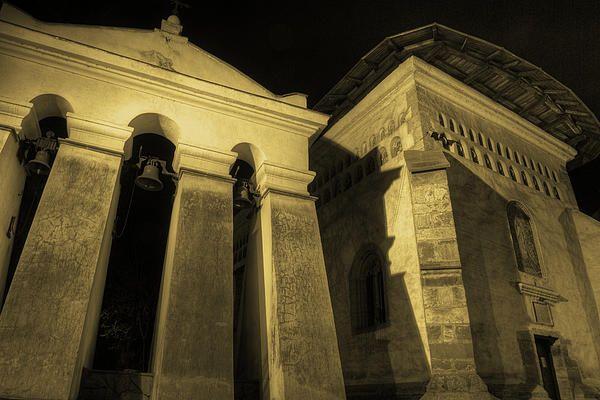Church By Night - HDR Photo