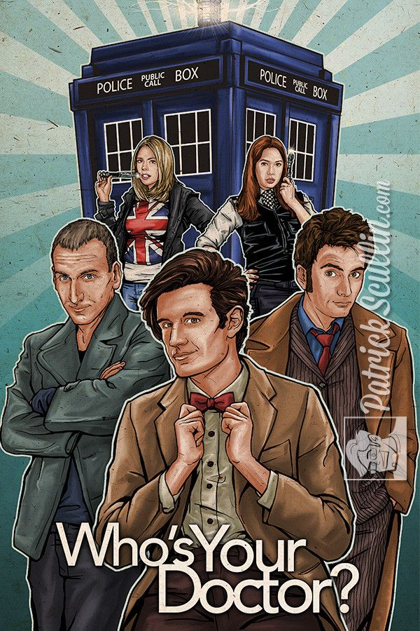 """""""""""Who's Your Doctor?"""""""" Art Print"""