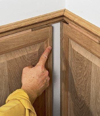 Обшивка стен (Деревянные филенчатые панели)