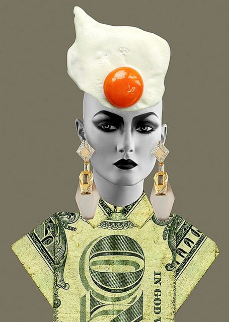 Egg Hat -- alexis-bittar-12 by identity crisis and stuff, via Flickr
