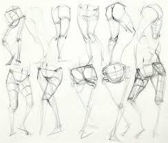 Bildergebnis für leg anatomy for artists