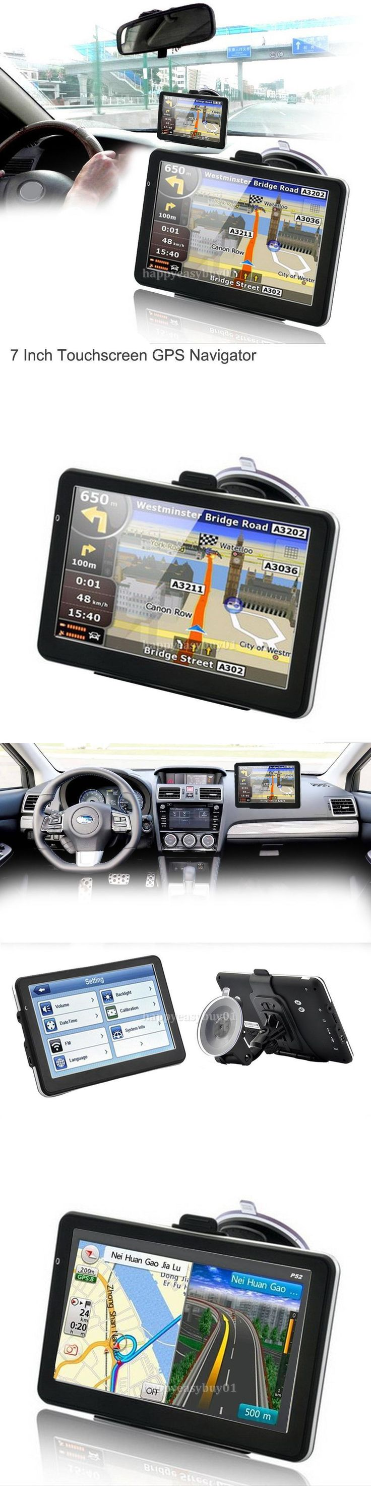 GPS Units: 7 Hd Touch Portable Truck Car Gps Navigator Navigation With Free Lifetime Maps -> BUY IT NOW ONLY: $46.45 on eBay!