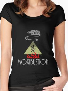 Moxibustion (traditional Chinese medicine) Women's Fitted Scoop T-Shirt