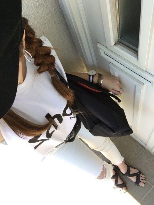 GUのサンダルを使ったakemi◡̈⃝☪·̩͙のコーディネートです。WEARはモデル・俳優・ショップスタッフなどの着こなしをチェックできるファッションコーディネートサイトです。